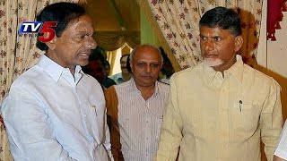 Great History | Chandrababu, KCR Confluence In The Presence of Governor : TV5 News - TV5NEWSCHANNEL