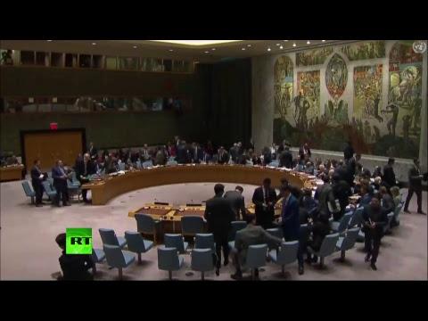 14.04.2018 Экстренное заседание Совета безопасности ООН