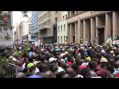Malema's march on Economic Freedom and Nationalisation of Mines