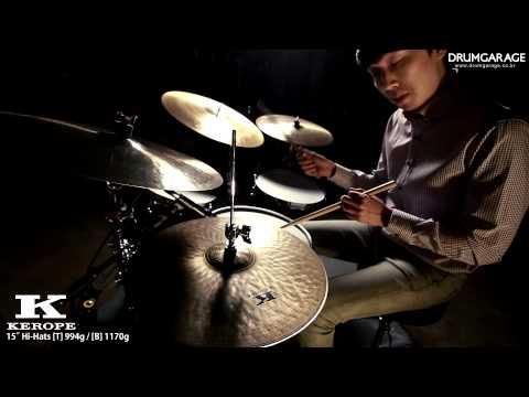 """Zildjian Kerope 15"""" Hi-hat T.."""