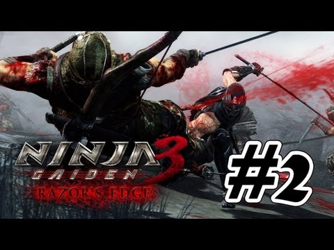 Ninja Gaiden 3: Razor's Edge - Walkthrough  Part 2 Gameplay [HD]