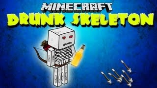 Minecraft Drunk Skeleton