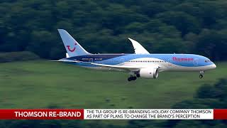 THOMSON MANAGING DIRECTOR NICK LONGMAN ON WHY THEY ARE NOW TUI - SKYNEWS
