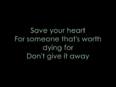 Save Your Heart Mayday Parade with lyrics