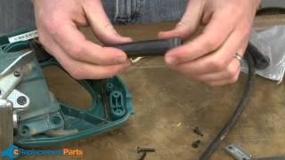 how to replace the cord on a makita 5277b circular saw youtube rh youtube com Makita JR3000V Reciprocating Saw Parts Makita JR3000V Parts