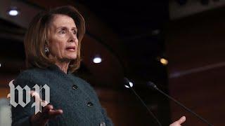 Pelosi and religious leaders speak about DACA - WASHINGTONPOST