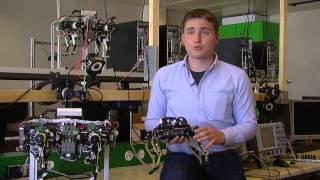 A robot that runs like a cat