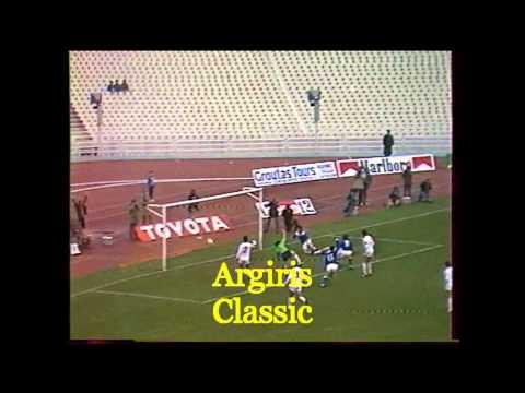 1985  ΕΛΛΑΔΑ - ΑΛΒΑΝΙΑ  2-0 ( ΕΡΤ )