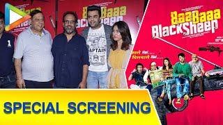 'Baa Baaa Black Sheep' Movie Special Screening   Manjari Phadnis, Manish Paul - HUNGAMA