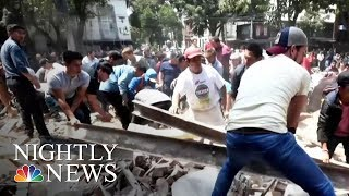 7.1-Magnitude Earthquake Rattles Mexico City | NBC Nightly News - NBCNEWS