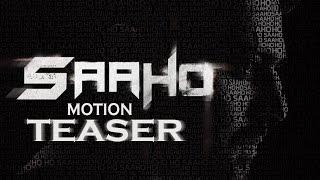Prabhas Saaho Motion Teaser | Prabhas | #Prabhas19 | #Saaho | Fan Made | TFPC - TFPC