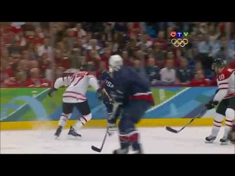 Goal Highlights - 2010 Winter Olympics Men's Hockey Final CAN v USA
