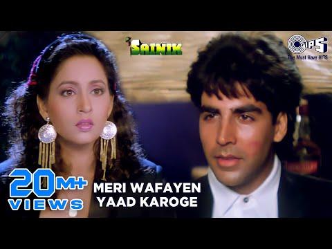 Meri Wafayein - Sainik - Akshay Kumar & Ashwini Bhave