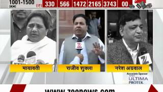 Watch: Political parties' reactions on Rail Budget 2015 - ZEENEWS