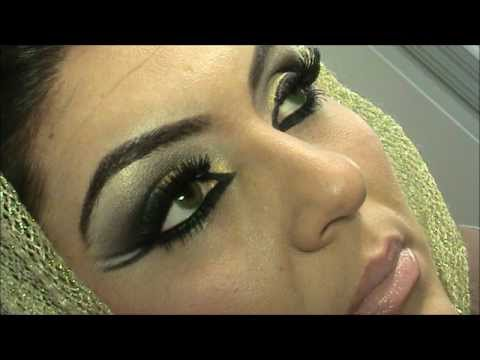 Arabic Makeup Look...Maquillaje Arabe