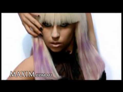 Lady Gaga photoshoot sadomaso su Maxim – 2012