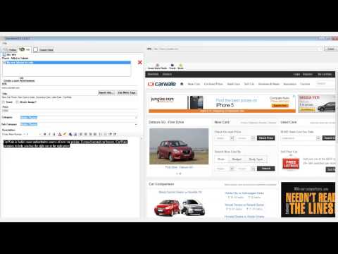 How to Submit Ads to  OLX using Spintax with OLX submitter Software ?