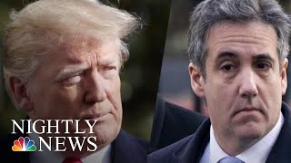 Explosive New Report Claims Trump Personally Instructed Cohen To Lie To Congress | NBC Nightly News - NBCNEWS