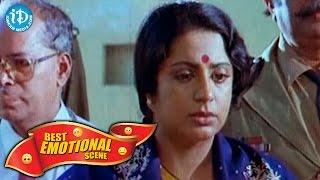 Telugu Movies || Best Emotional Scene || Srividya, Vinod Kumar || Rajadhani Movie - IDREAMMOVIES