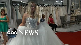 Brides Across America bought a wedding dress for Iraq War veteran Genevievie Braun - ABCNEWS