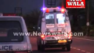 Car accident on Shamshabad highway, driver severely injured - THENEWSWALA