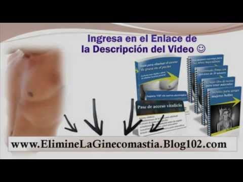 ginecomastia tratamiento casero