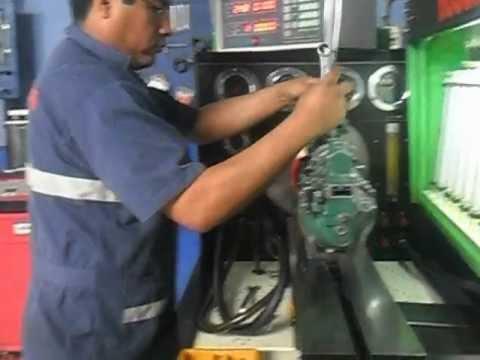 Banco De Pruebas Para Bombas Inyectoras Diesel