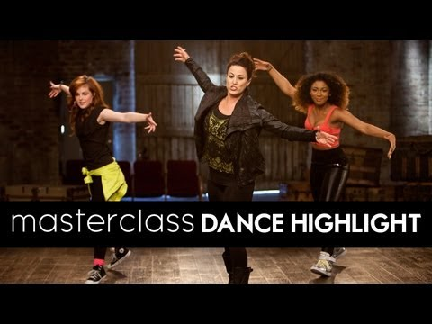 LEARN TO DANCE:  Tina Landon's WILLOW SMITH'S FIREBALL Masterclass Routine [DS2DIO]