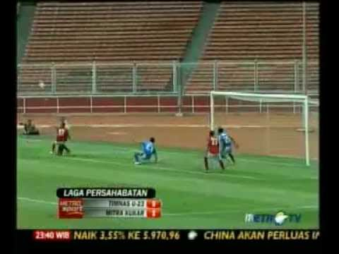 Timnas Indonesia U23 Vs Mitra Kukar