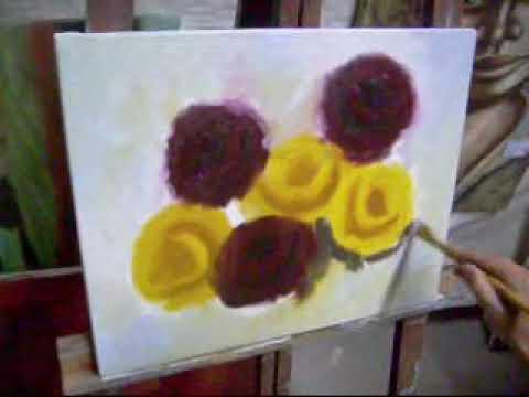 Pintando rosas com Marcio Monteiro (aula 2)