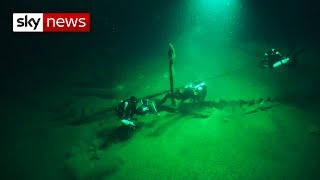 World's oldest intact shipwreck discovered - SKYNEWS