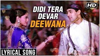 Didi Tera Devar Deewana | Lyrical Song | Hum Aapke Hain Koun | Salman Khan, Madhuri Dixit - RAJSHRI