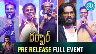 Darbar Telugu Movie Pre Release Full Event | Rajinikanth | Nayanthara | AR Murugadoss - IDREAMMOVIES
