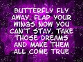 Miley Cyrus- Butterfly fly away (lyrics/ Download Link)