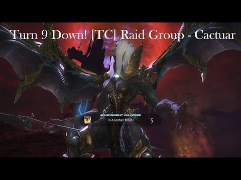 FFXIV T9 1st Down [TC] Raid Group - Cactuar [HD]