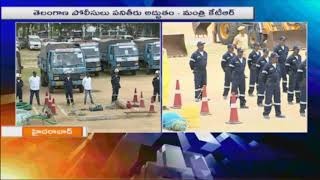 Minister KTR Inaugurates Disaster Response Force | Hyderabad | iNews - INEWS