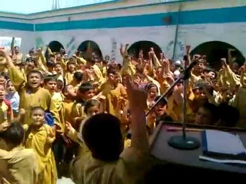 Pakistan Zindabad Slogans By Kids Of Balochistan Kharan District