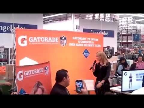 INÉS SAINZ EN SAM'S CLUB ACOXPA