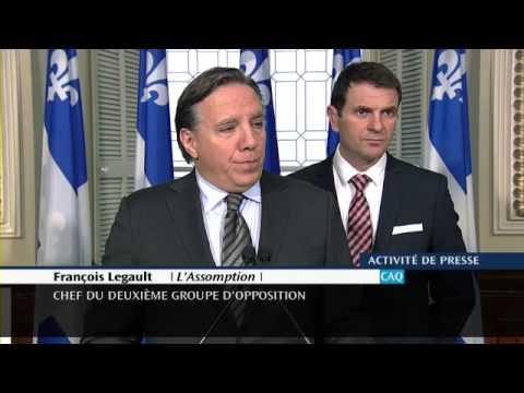 Extras au MTQ : «Un laisser-aller qui coûte cher aux contribuables » – François Legault