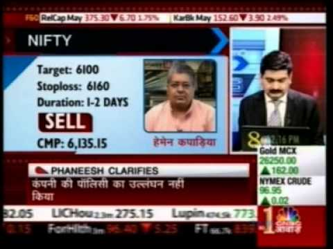 CNBC Awaaz Future Express 21 May 2013 MrPuneet Kinra - AVP Research Equity T