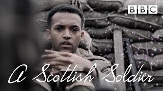 Arthur sees his first dead body in the trenches - A Scottish Soldier - BBC - BBC