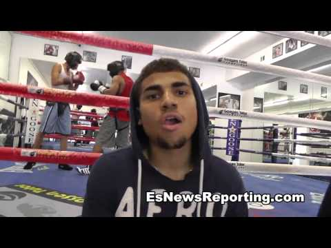 Andre Berto talks Maurice Lee Next Fight EsNews Boxing