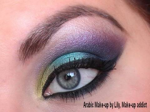 Maquillage d'inspiration arabe / libanaise.wmv