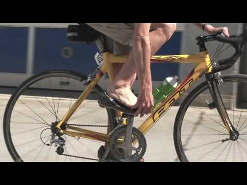 How to preclip cycling shoes for triathlon.