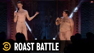 The Naked Roast Battle - Keith Carey vs. Connor McSpadden - Exclusive - COMEDYCENTRAL