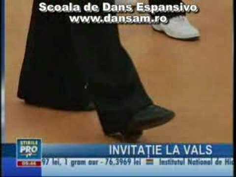 Cursuri de Dans - Scoala de Dans ESPANSIVO www.dansam.ro - vals lent