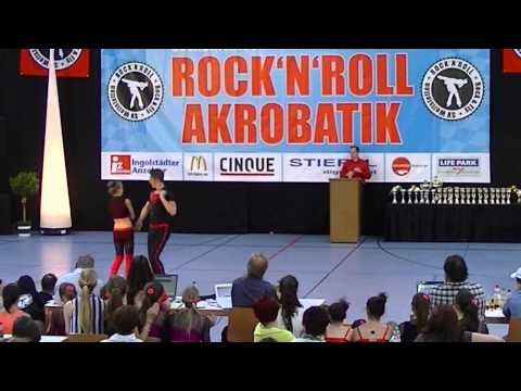 Theresa Brinkmann & Dennis Hoffmann - Oberbayerische Meisterschaft 2013