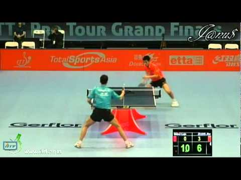 2011 Grand Finals (ms-qf) WANG Liqin  - ZHANG Jike [Full Match|Short Form]