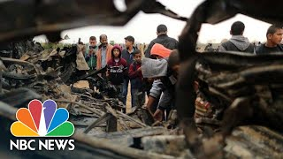Seven Palestinians, One Israeli Officer Killed During Undercover Gaza Operation | NBC News - NBCNEWS