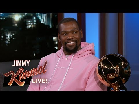 Kevin Durant on J.R. Smith Blunder, LeBron James & Partying After Finals Win - يوتيوبات